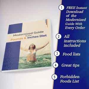 pounds and inches diet guide every order