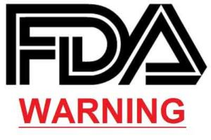 FDA warning for ACE diet pills