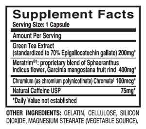 Leptigen ingredients